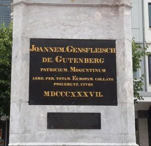 Maguncia Gutenbergplatz 20140704