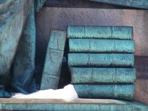 Libros bajo la nieve